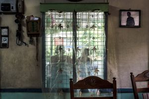 There are living lost souls stuck in a different time zone at Singapore,its surroundings has come to come to a stand still since the 1950's.They have chosen not move forward with modern development.They are the inhabitants of the last village of Singapore,Kampong buangkok. Awin Bin Yudin has resided for about 60 years at Kampong Buangkok,together with his wife Salmah & 6 kids.© Amrita Chandradas
