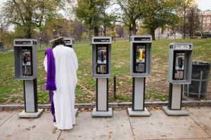 Untitled (Jesus and payphones), 2011