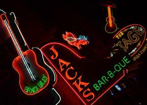 Neon Signs, Broadway, Nashville
