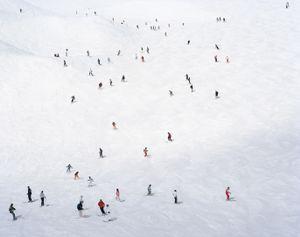 Crowded Slopes I, 2008  © Dede Johnston