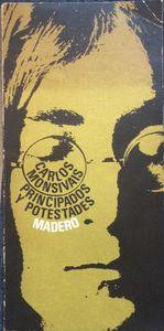 Principados y potestades, 1969 © Carlos Monsivais, Anticuaria Poema 20