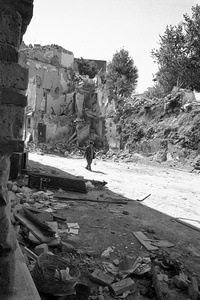 Salerno in spring 1981 after the earthquake VI