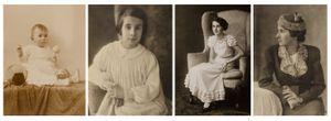 Porträts von Renate Scholz (Portraits of Renate Scholz), 1920-1939. Courtesy of Museum Fur Kunst und Gewerbe.