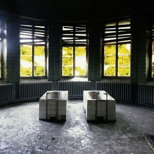 Two baths, Beelitz, Germany © Dan Dubowitz