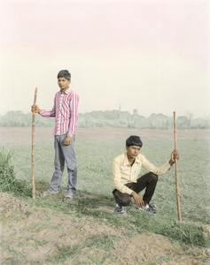"Young Warriors, Sitamarhi, 2015. From the series ""A Myth of Two Souls, Chapter 1: Early Time"" © Vasantha Yogananthan, Prix Levallois 2016"