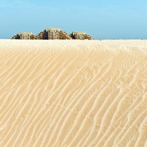 Touristic area in Ras al Khaima, United Arab Emirates