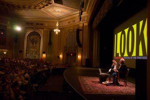 Paramount  INSIGHT talk with William Albert Allard  Alex Chadwick © Michael Nichols 2007