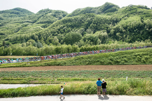 Stage: Tuscany. Garfagnana. This stage is the first summit finish.