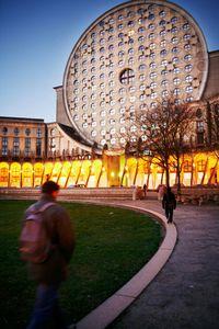 Quartier du Pavé neuf, les Arènes de Picasso, FRANCE 2007