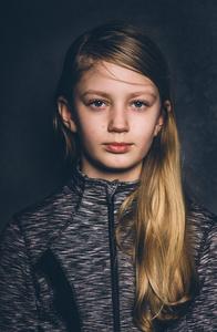 Celia aged 10.
