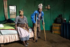Patrick Sitwayi with Asive Bingwa - Cofimvaba, South Africa 2015