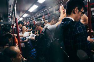 Stuck in Hong Kong Rush Hour