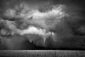 Funnel-Cornfield, Northfield, Minnesota, 2010, © Mitch Dobrowner