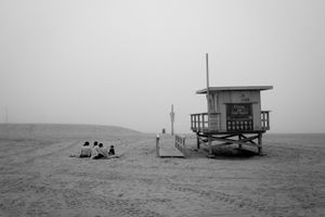 Security. Venice Beach California