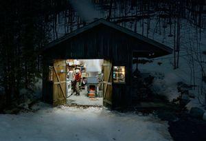 Sugar Shack, Caledon, Ontario (study 3) © Scott McFarland