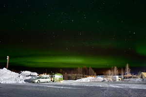 Caravan matching with the northern lights