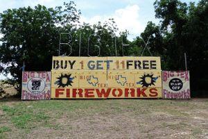 """""""Big Tex Fireworks"""""""