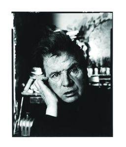 Francis Bacon by David Bailey, 1983 © David Bailey