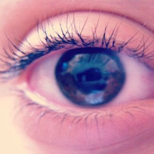 The most beautiful reflection in your eyes.