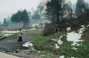 From Blood Honey, Grab Potok refugee camp, Bosnia, 2004. Photographs by Nathalie Mohadjer. © Nathalie Mohadjer