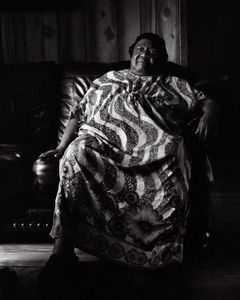 Aunt Doris at home in Mashulaville, MS.
