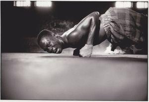 Joseph Opiyo, 1988 © Philippe Bordas, Galerie Berthet Aittouarès