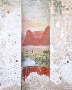 Mural, Hotel Genosar, Tiberia, 2016