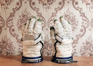 Sokol Space Glove, Yuri Gagarin Cosmonaut Training Center [GCTC], Star City, Zvyozdny Gorodok, Russia, 2007 © Vincent Fournier