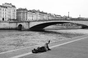 Relax in the Seine River