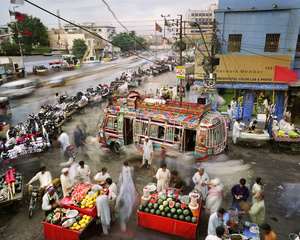 New M.A. Jinnah Road, Saddar Town, Karachi, Pakistan, 2011.