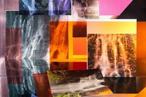 Waterfalls, 2014. Archival pigment print, 24 x 36 inches