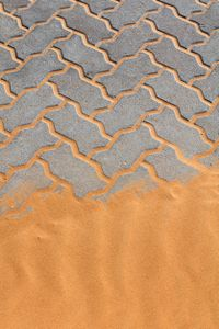 returning sand