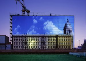 History of the Berlin Palace, 178 x 250cm, 2011, Chromogenic Print