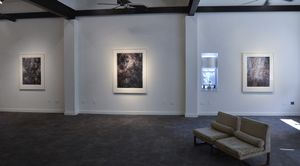 Installation View of Infinities #7, #8 and #5 (The Heavens)