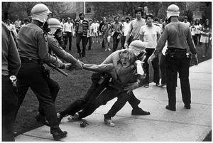 Riot, Cambodia Invasion, Ohio, 1970