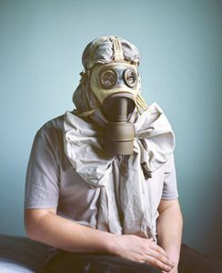 Camouflage au Masque à gaz © Marie Hudelot