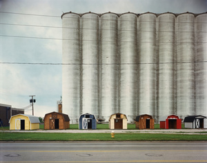 Naumee, Ohio, 1988. Vintage type-c print © David Graham. Exhibitor: LAURENCE MILLER