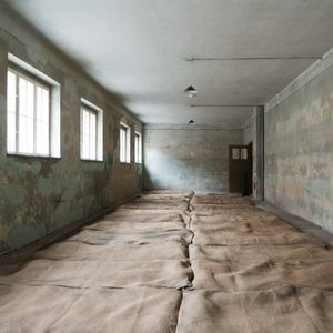Prisoners' Sleeping Area, Block 2, Auschwitz-Birkenau Memorial and Museum
