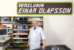 The one and only Einar