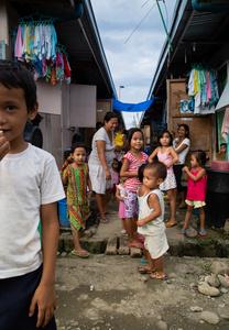 Growing up in Tacloban