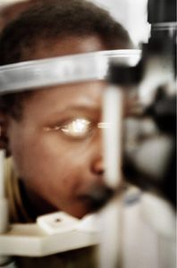 Kagbay, Rwanda 2004. Gitarama Ophthalmic Center.