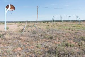 Roadside: Abandoned on Route 66. Santa Rosa, New Mexico