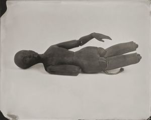 """""""Artist's Mannequin."""" 8x10""""  Wet-plate collodion tintype. © 2012 Keliy Anderson-Staley"""