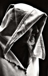 Hooded Man - Marrakech, Morocco