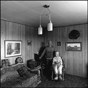 © George Webber - Father and daughter, Macrorie, Saskatchewan, 1993