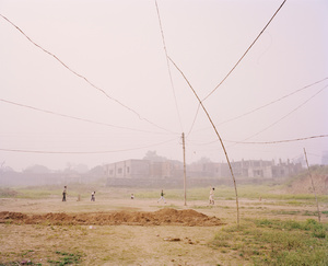 "The Cricket Match, Chitrakoot, 2013. From the series ""A Myth of Two Souls, Chapter 1: Early Time"" © Vasantha Yogananthan, Prix Levallois 2016"