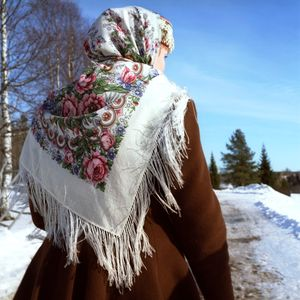 Natalia, Malye Korely village, Primorsky District of Arkhangelsk region. © Maria Gruzdeva