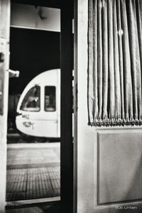 old door, modern train © Christos Tolis
