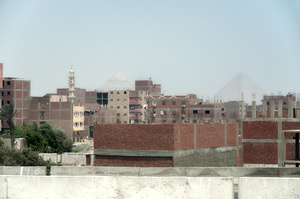 Uncoordinated housing developments, Cairo