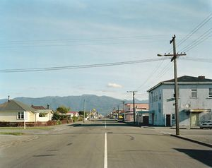 Palmerston Street, Westport, West Coast, 6:24pm, 2nd February 2004. © Derek Henderson